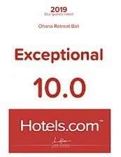 Exceptional 10.0 Hotels.com