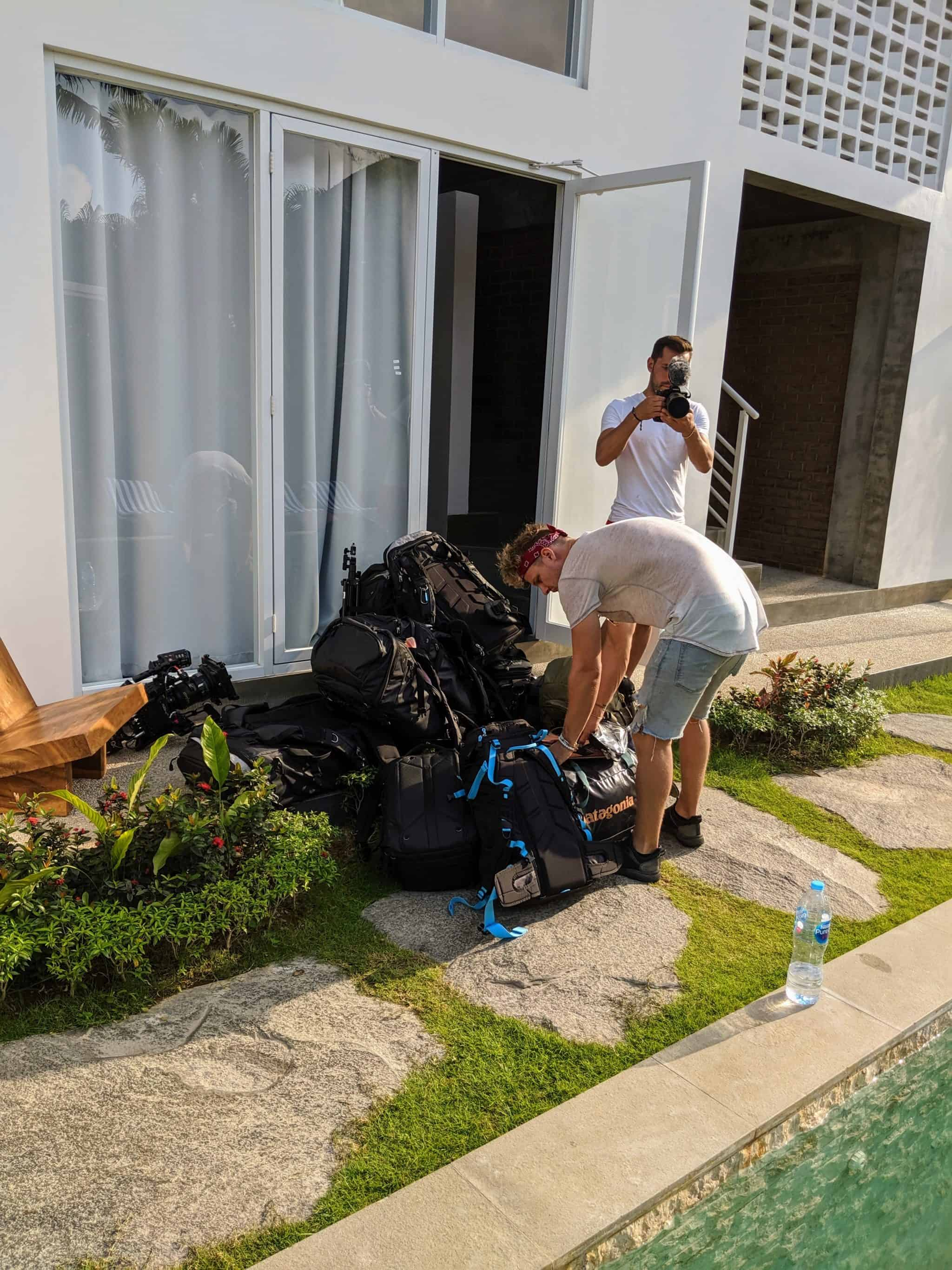 first group stays with us,film crew stays on, First Film Crew at Ohana Retreat Bali, Ohana Retreat Bali, Ohana Retreat Bali